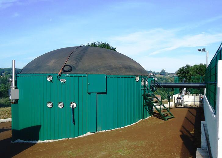Planta de biogás Finca Mouriscade (Pontevedra)