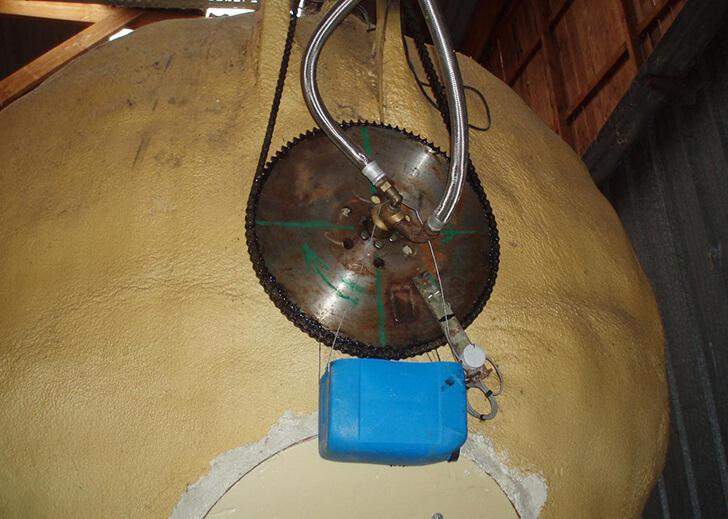 Plnata de biogás Colomiers (Francia)