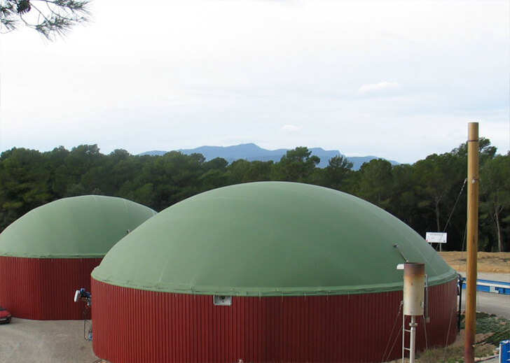Planta de biogás Sat Sant Mer (Girona)