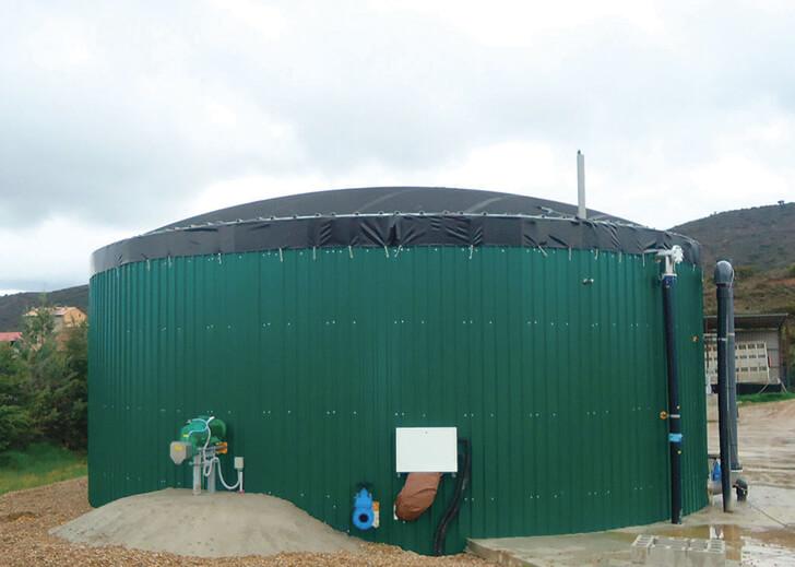 Planta de biogás en Agronosella