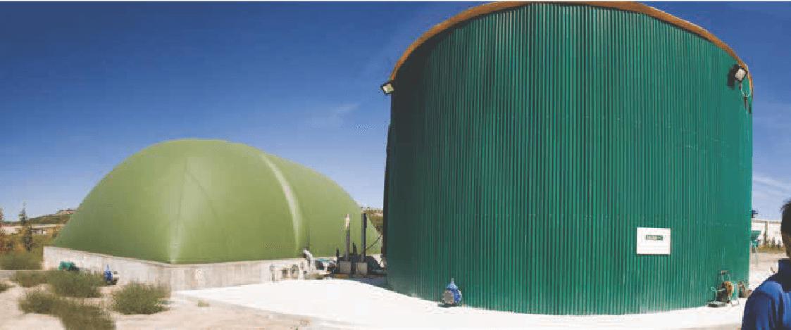 Planta de Biogas Iscar, Valladolid