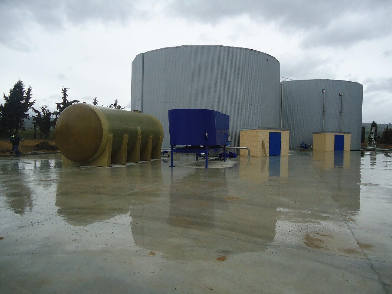 Planta de biogás Zaidín y Capella (Huesca)